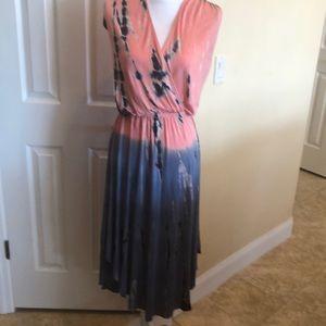 Boston Proper Tie-dye women's Dress